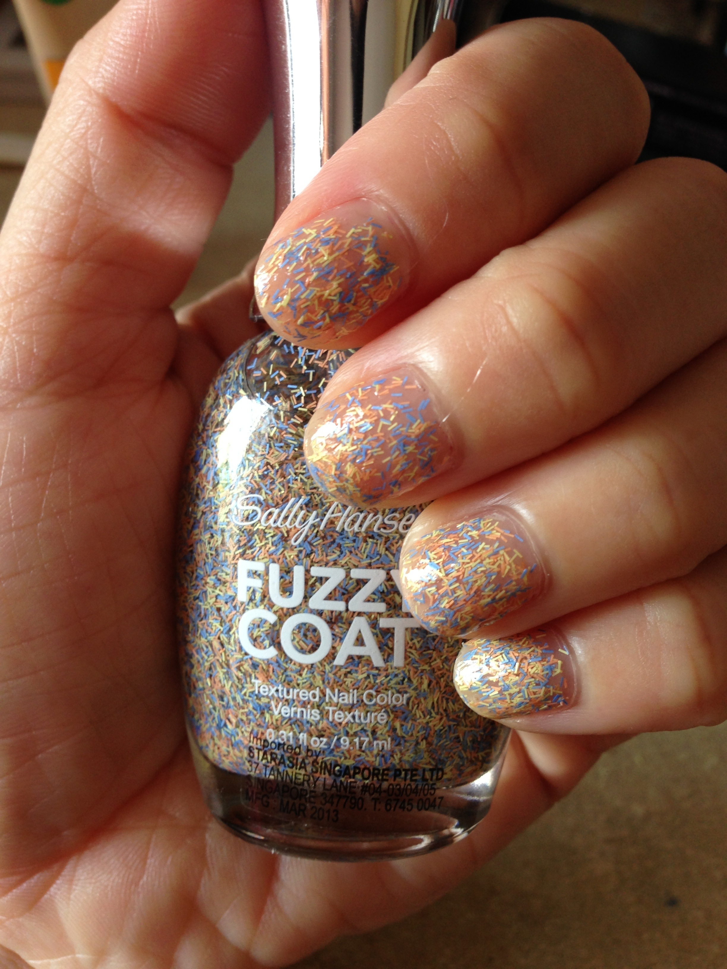 Sally Hansen Fuzzy Coat 200 All Yarned Up | Make Up My Mind please!