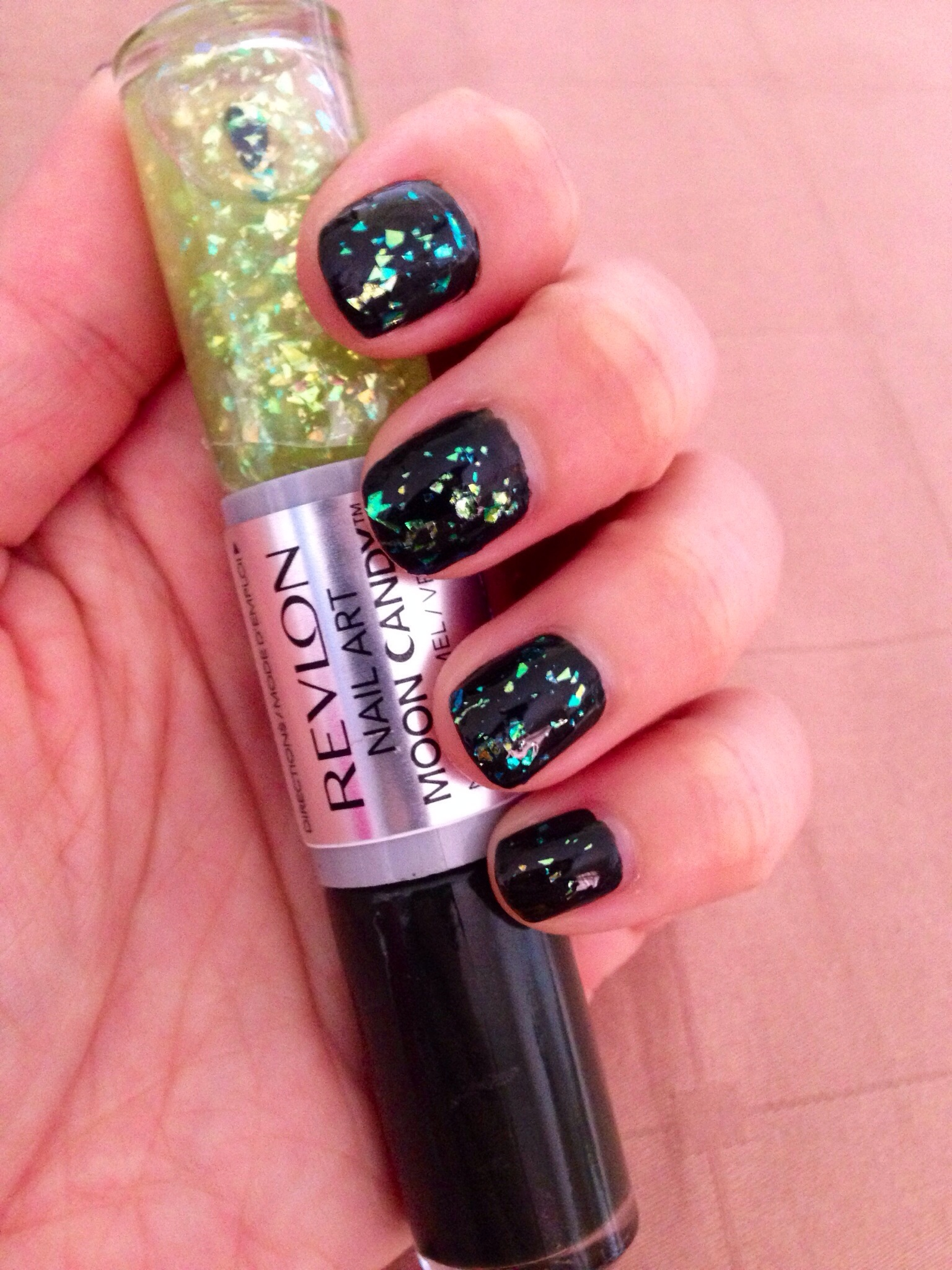 Revlon Nail Art Moon Candy 260 Meteor Make Up My Mind Please
